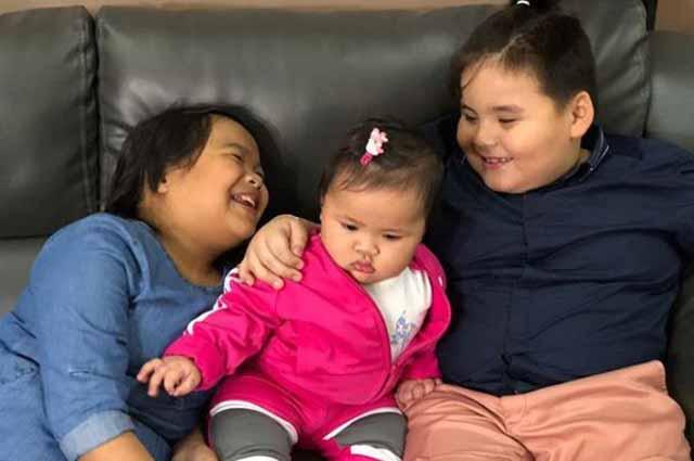 Baby Tali bonds with 'Eat Bulaga' babies Ryzza Mae Dizon and Baeby Baste