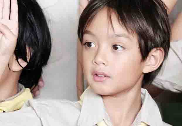 Lucho growing up to be as handsome as daddy Ryan Agoncillo
