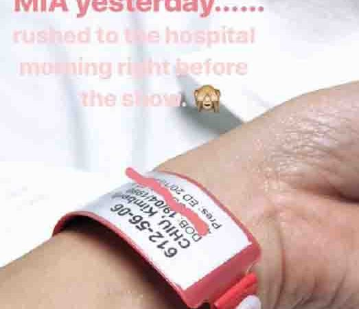 Kim Chiu hospitalized in Sydney a day before 'ASAP' show