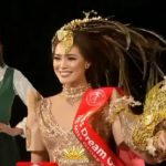 Michele Gumabao wins two special awards in Miss Globe 2018