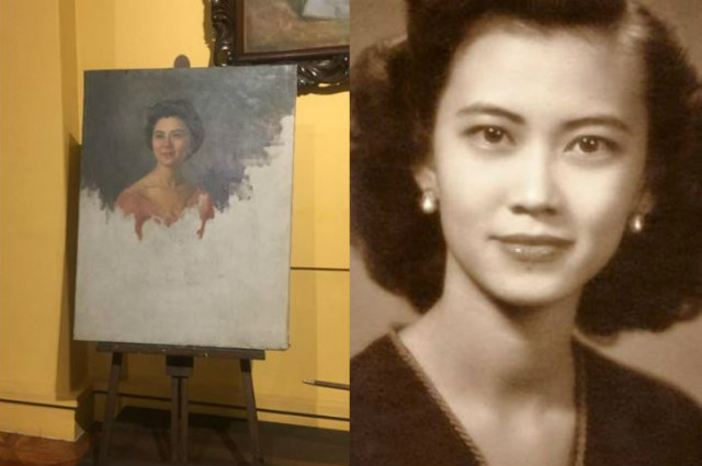 MYSTERY UNLOCKED: Vicki Belo's mother is the woman behind Fernando Amorsolo's last, unfinished painting
