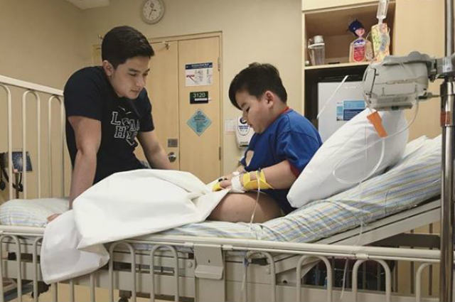 Baeby Baste suffers from dengue anew, gets a visit from Alden Richards