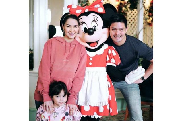 LOOK: Dantes family celebrates Zia's 3rd birthday in Hong Kong Disneyland