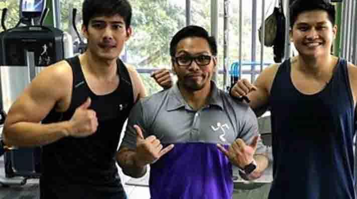 Robi Domingo shares result of fitness workout dedication