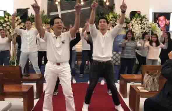 WATCH:  Tirso Cruz III and family celebrate son Teejay's life with dance number