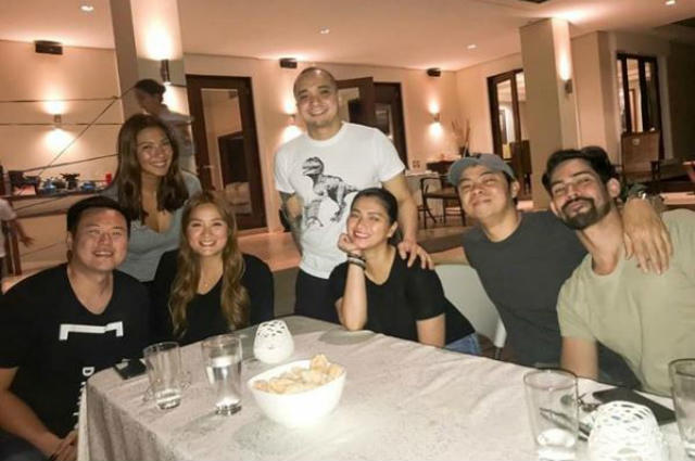 Chito Miranda reunites with BFFs Angel Locsin and Bubbles Paraiso
