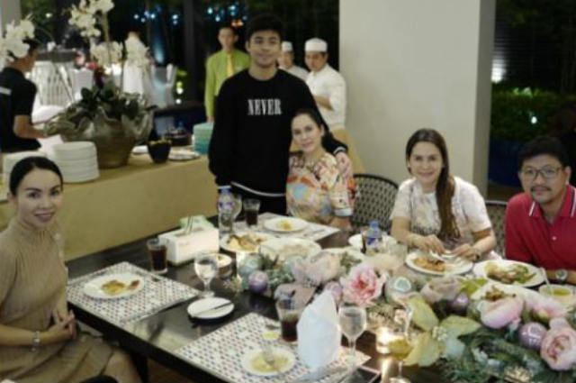 Manny and Jinkee Pacquiao pull off a house party for son Michael's 17th birthday