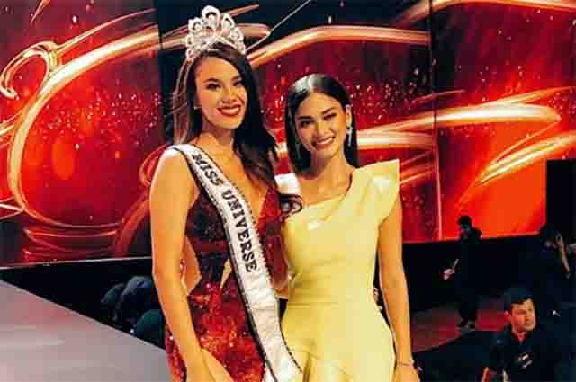 Queens spotted: Pia Wurtzbach gives all out support to