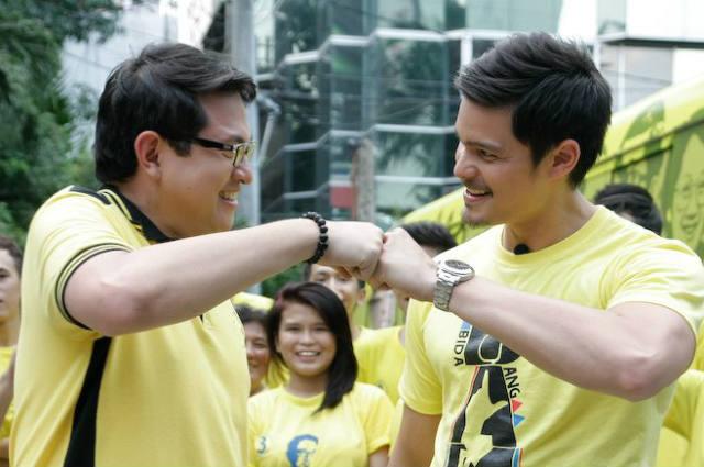 WATCH: Dingdong Dantes shows support to Bam Aquino