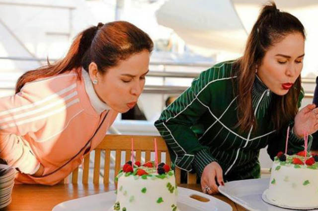 LOOK: Jinkee Pacquiao and twin sister celebrate birthday in Los Angeles