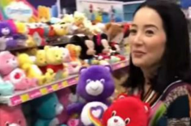 WATCH: Kris Aquino gives away stuffed toys to women with health challenges