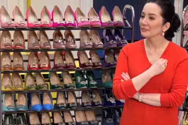 Kris Aquino to sell her shoes and bags online