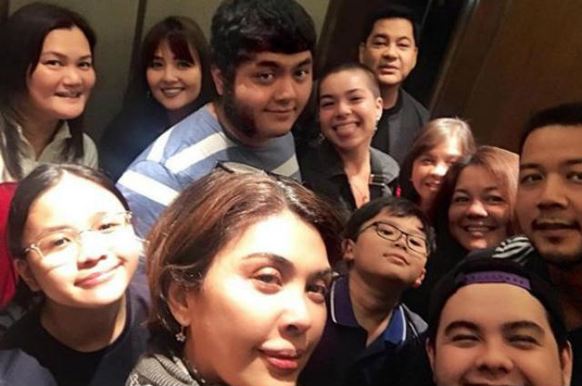 Martin Nievera and Pops Fernandez spend new year together with family
