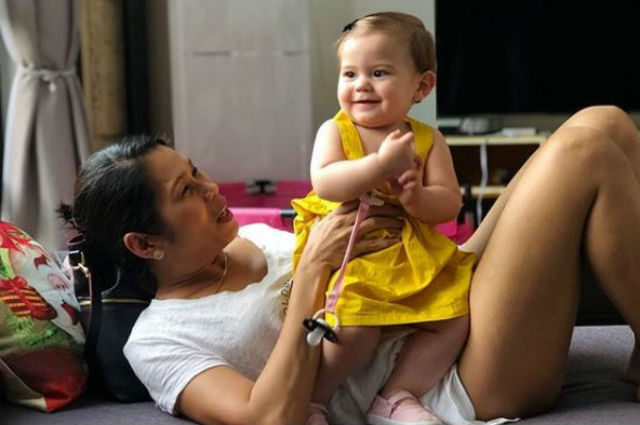 """Pokwang reveals being questioned about Malia at the airport: """"Are you sure you are the mother?"""""""