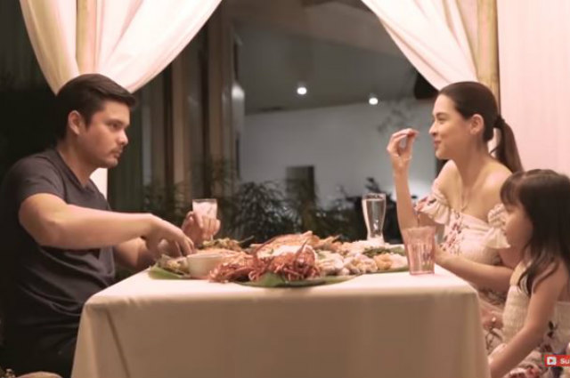 WATCH: Marian Rivera and Zia pull off a sweet dinner surprise for Dingdong Dantes