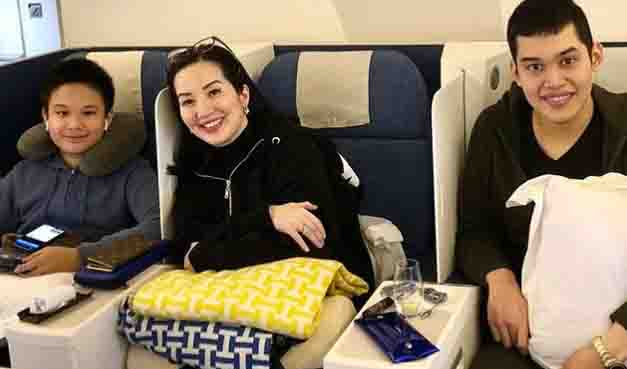 WATCH:  Kris Aquino to spend birthday abroad with her kids