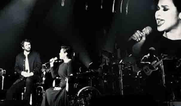 WATCH:  Lea Salonga sings 'The Prayer' while in a wheelchair