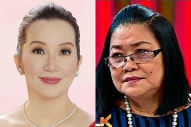 Kris Aquino apologizes to Lolit Solis for being dragged into her issue