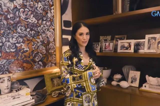 WATCH: Heart Evangelista gives a tour inside her office