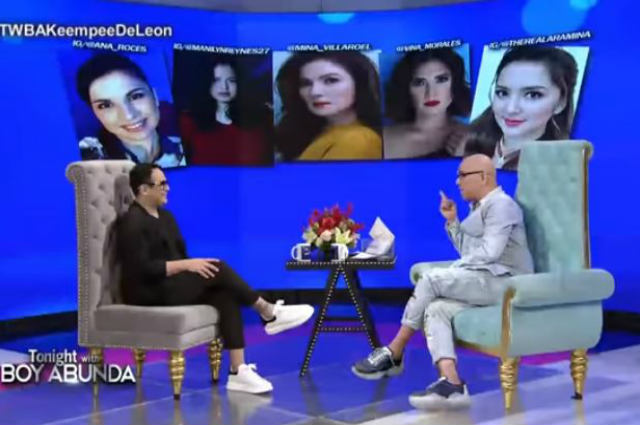 Keempee De Leon talks about his past girlfriends Carmina Villaroel, Ina Raymundo, Ara Mina