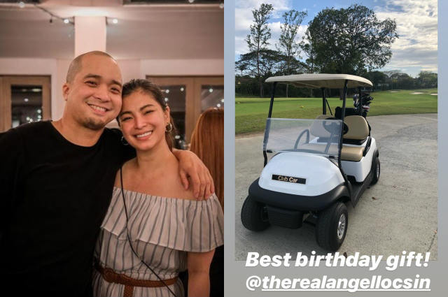 Angel Locsin throws birthday party for Neil Arce, gives him a golf cart worth over P350K