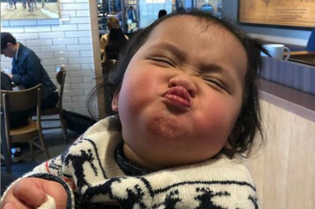 LOOK: Netizens gush over baby Tali's adorable wacky faces