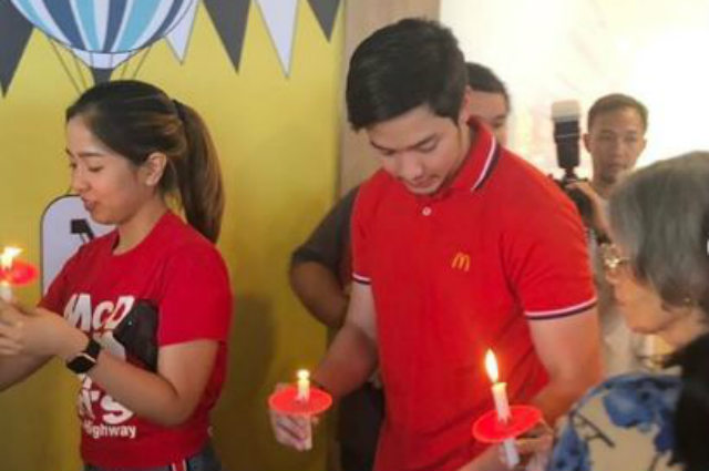 LOOK: Alden Richards opens his own branch of fast food chain