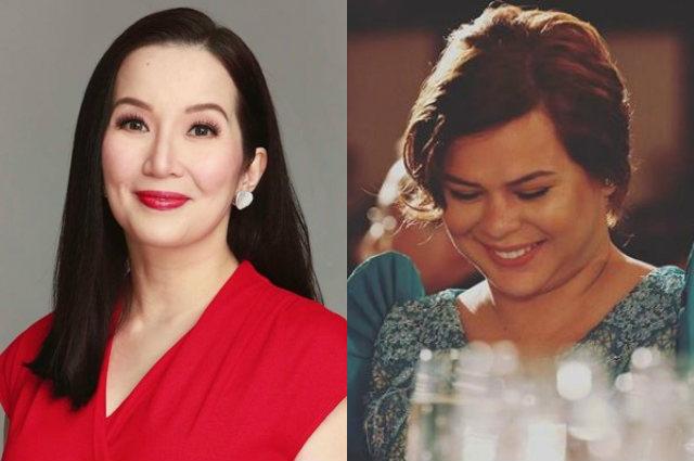 "Kris Aquino says she is no match for Sara Duterte: ""Tapikin lang nya ko- Physically tutumba ako"""