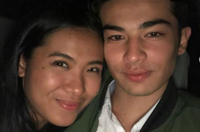 """LOOK: Andre Brouillette shares Instagram photo with Lou Yanong: """"I louve you"""""""