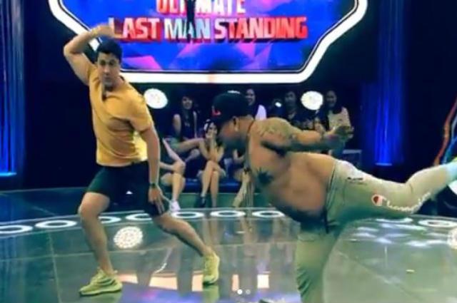 WATCH: Luis Manzano takes on Dante Gulapa's 'eagle dance' challenge