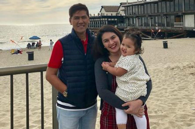 LOOK: Vic Sotto, Pauleen Luna, and baby Tali go on a trip to US