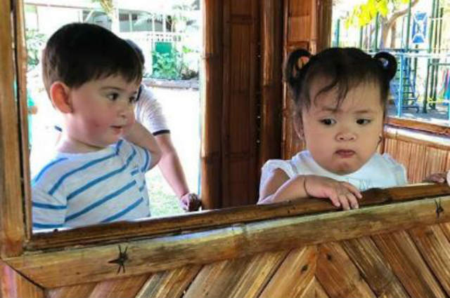 LOOK: Pauleen Luna shares photos from baby Tali's first day at baby school