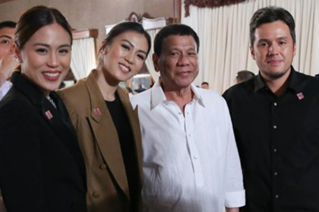 "Alex Gonzaga explains presence at President Duterte's private dinner: ""We really didn't know what it was about"""