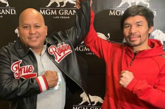 Manny Pacquiao offers to help Bato Dela Rosa about Senate work