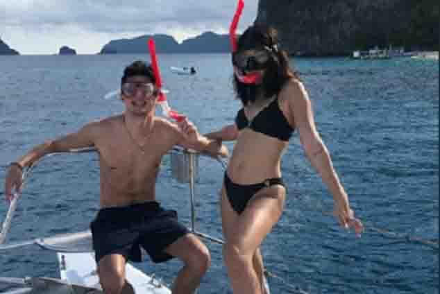 James Reid celebrates 26th birthday with Nadine Lustre in Palawan