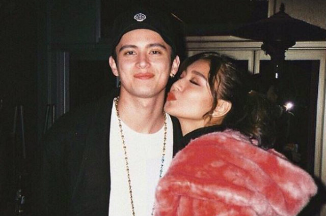 "Nadine Lustre thankful for James Reid who reminds her to ""never be insecure"""