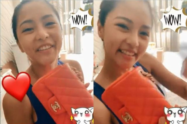 Kim Chiu receives Chanel bag worth P183K from Kris Aquino and sons
