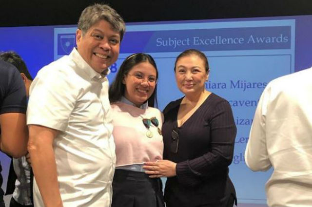 Sharon Cuneta, proud of daughter Miel's academic achievements