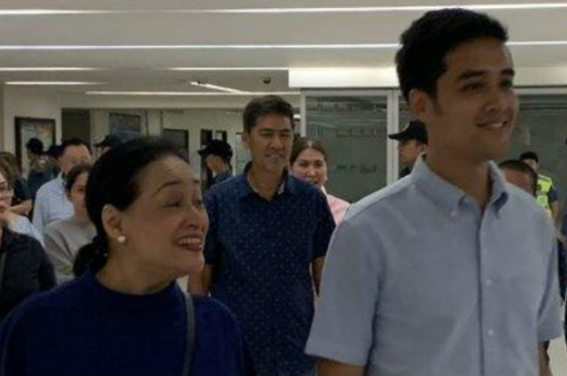 Vic Sotto and Coney Reyes present at son Vico Sotto's proclamation as new Pasig City Mayor