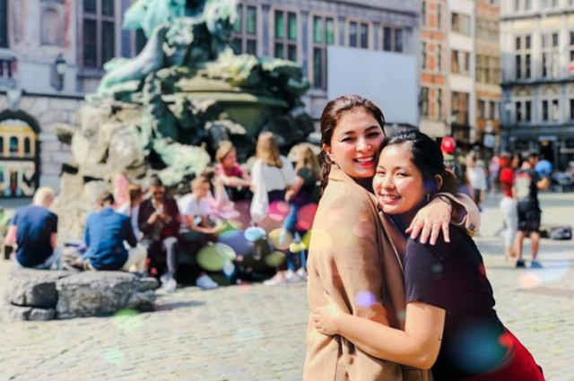 Angel Locsin expresses love for her 'bunso' Loisa Andalio