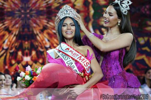 Gazini Ganados is the new Miss Universe PH