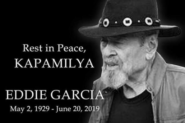 ABS-CBN releases statement on Eddie Garcia's passing
