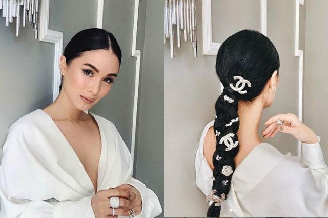 """Heart Evangelista flaunts Chanel-studded hair: """"Kulang pa nga eh"""""""