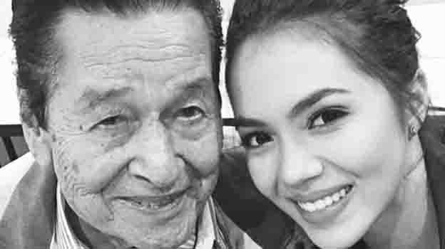 Julia Montes posts message of love for Eddie Garcia