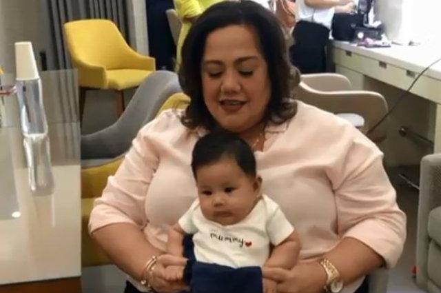 WATCH: Rochelle Pangilinan and baby Shiloh visit 'Eat Bulaga' Dabarkads