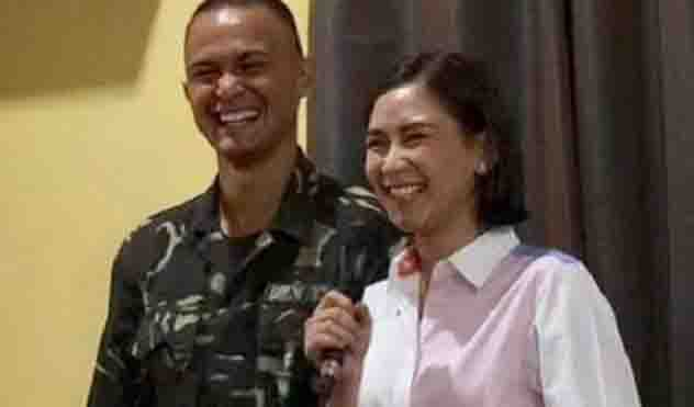 Sarah Geronimo sings for Matteo Guidicelli during graduation