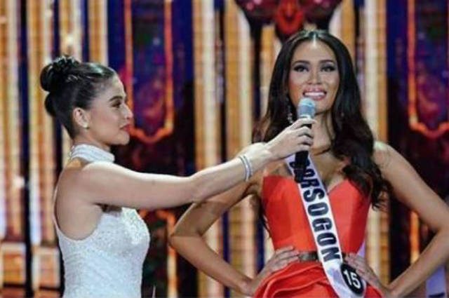 "Miss Sorsogon explains 'microphone' moment with Anne Curtis: ""I honestly had no bad intentions"""