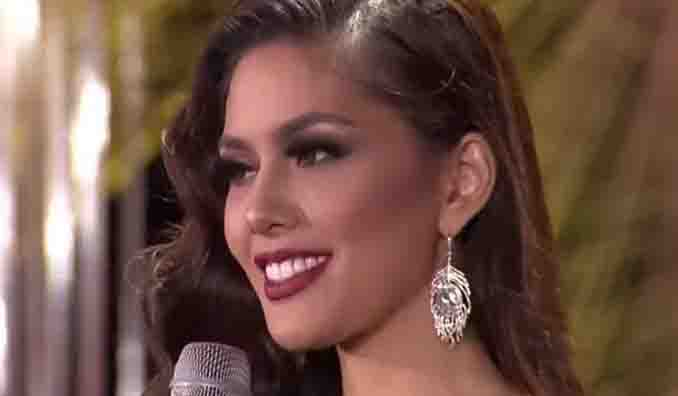 WATCH:  Vickie Rushton's answer during Bb. Pilipinas Q and A portion