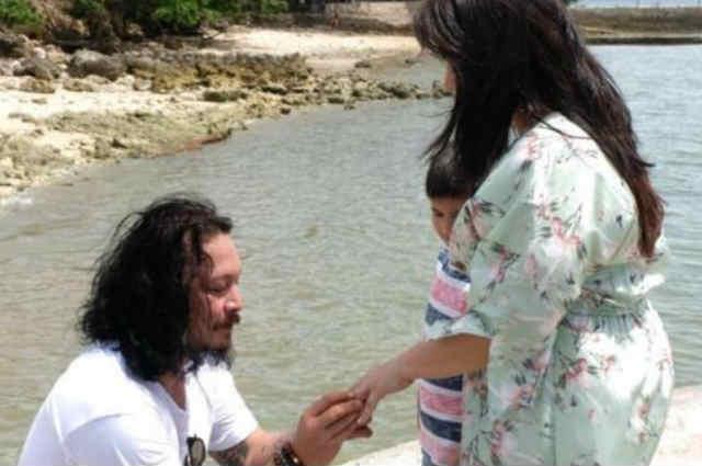 LOOK: Baron Geisler proposes to girlfriend Jamie Evangelista