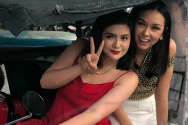 LOOK: Dimples Romana and Beauty Gonzalez spotted riding a tricycle together
